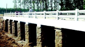 高效节水灌溉项目竣工在即