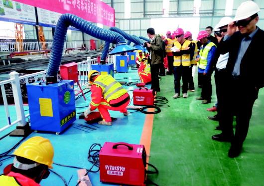 济南绕城高速二环线东环段项目电焊技能大赛成功举行